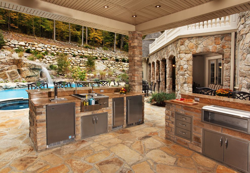 Sweet Ga Juke Joint for a Contemporary Patio with a Outdoor Counter and Kitchens and Bathrooms by Anthony Albert Studios