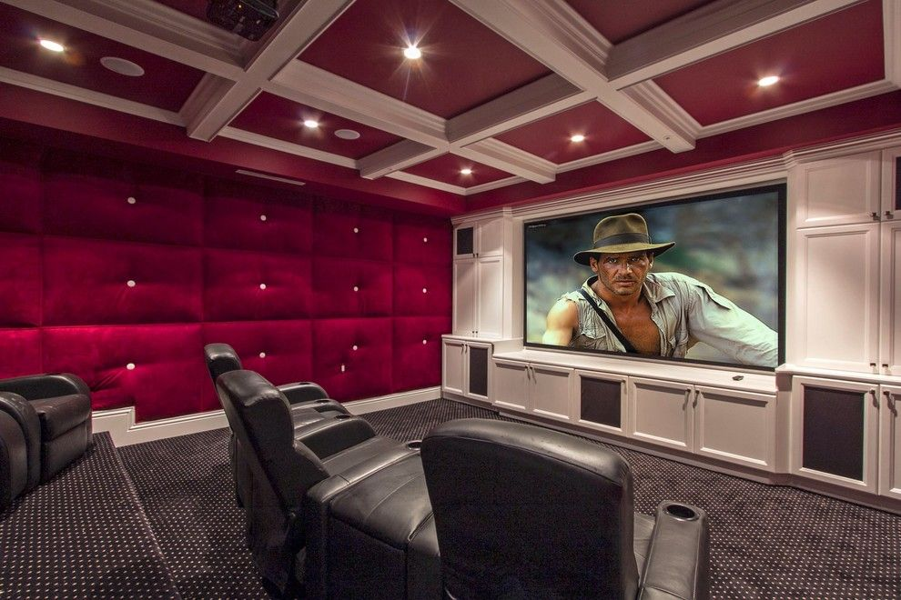 boca movie theater for a traditional home theater with a historichome theater design group. Interior Design Ideas. Home Design Ideas
