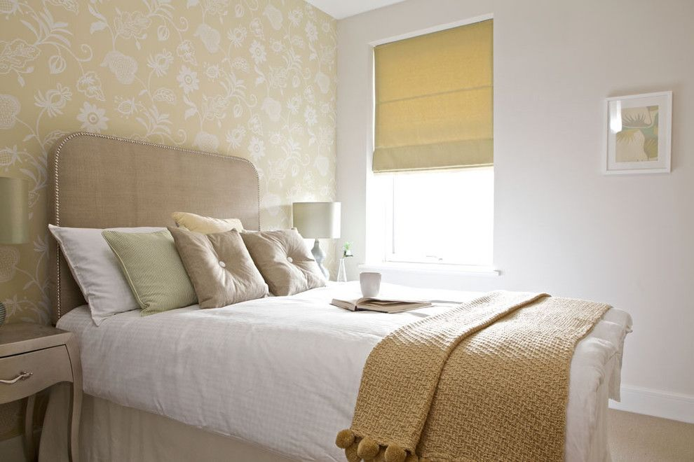 Sysco Guest Supply for a Eclectic Bedroom with a Bedside Table and Fresh, Light and Simple by the Couture Rooms