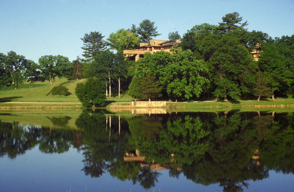 Taliesin Wisconsin for a  Landscape with a Frank Lloyd Wright and Taliesin Preservation, Inc. by Taliesin Preservation, Inc.