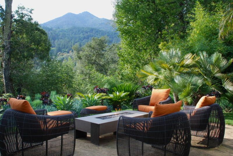 Tamalpais for a Contemporary Patio with a San Francisco and Marin by Strata Landscape Architecture