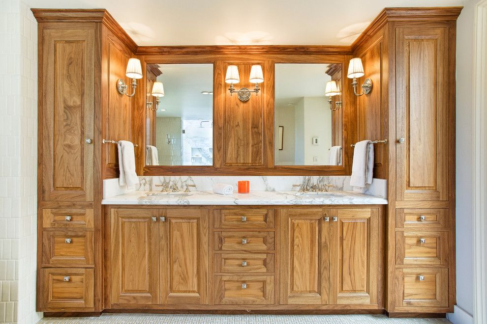 Tamalpais for a Traditional Bathroom with a Victorian and Exquisite Belvedere Victorian by Decker Bullock Sotheby's International Realty