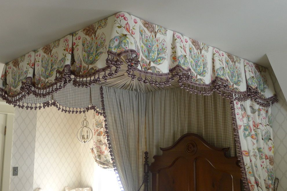 Tea and Crumpets for a Traditional Bedroom with a Window Seats and Child's Bedroom by Susan Brook Interiors