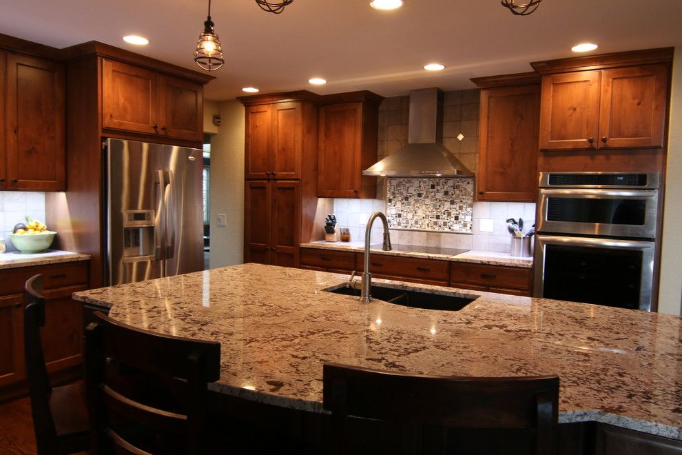 Teleo for a Traditional Spaces with a Traditional and Highlands Ranch Kitchen by Teleo Remodeling