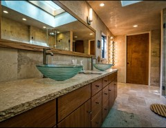 Tex Cote for a Transitional Bathroom with a Tex Cote and Beverly Hills Transitional Home Remodeling by SOD BUILDERS, INC.