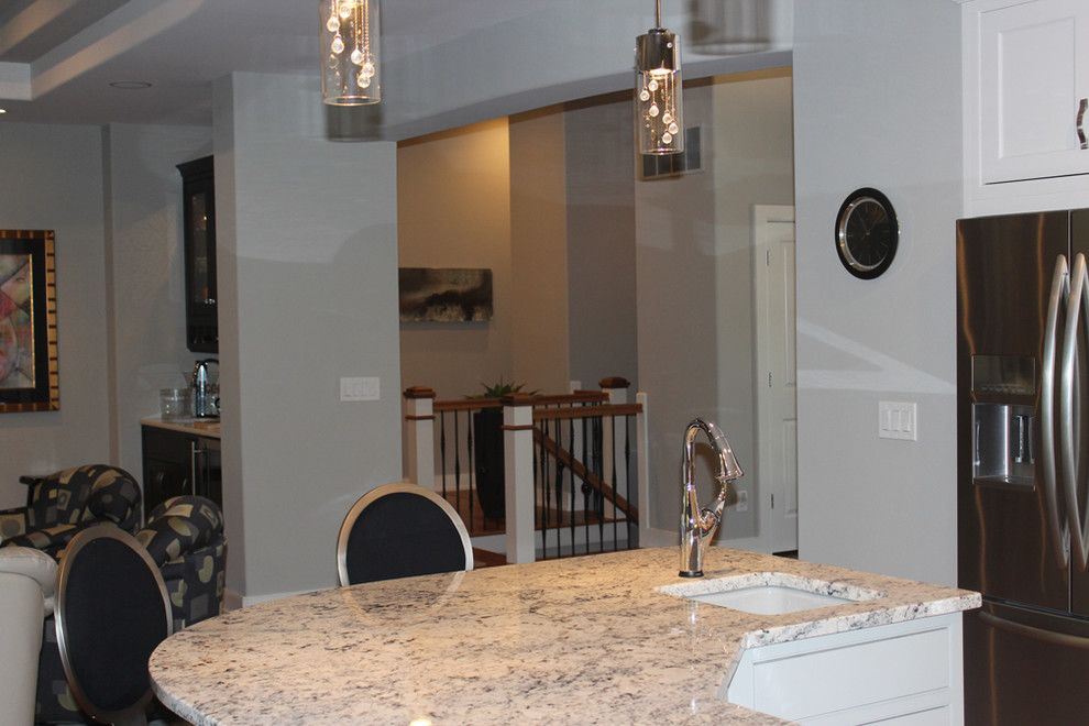 The Ashleys for a Eclectic Kitchen with a Prep Sink in Island and Custom Home by Ashley Construction / Ashley Remodeling