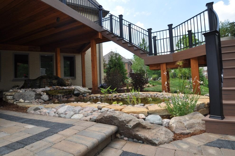 The Ashleys for a Traditional Landscape with a Traditional and Remodeling Project by Ashley Construction / Ashley Remodeling