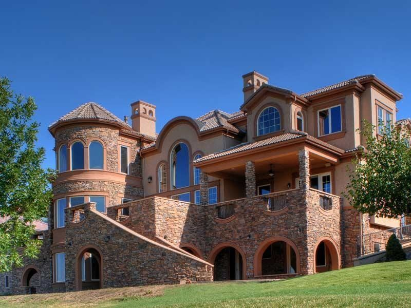 The Boulders Golf for a Traditional Exterior with a Cultured Stone and Italian Villa by Jka Design Llc
