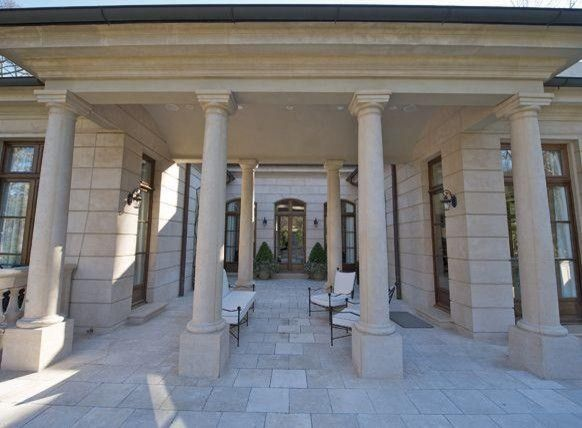 The Colonnade Atlanta for a Traditional Exterior with a Traditional and Architectural Interior & Exteior Columns  Francois & Co. by Francois & Co