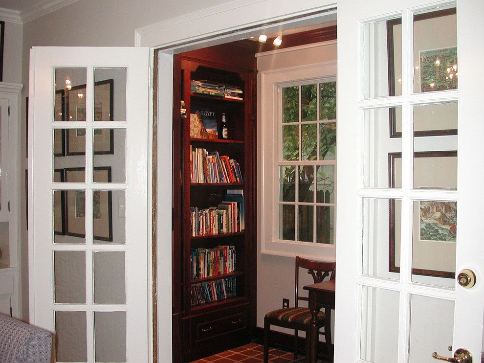 The Nook Atlanta for a Traditional Home Office with a Library and Fissell Residence by Studio 3 Design Group