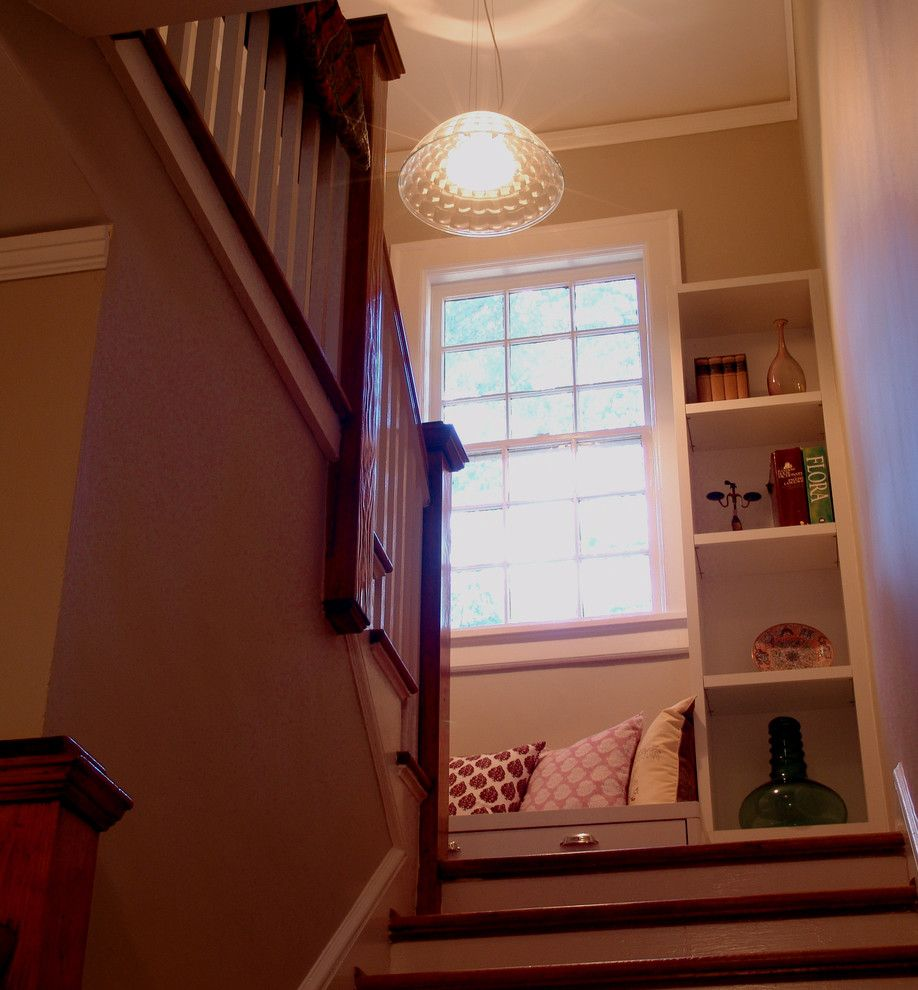 The Nook Atlanta for a Traditional Staircase with a Traditional and Oakdale 4 Renovation by Soorikian Architecture