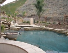 The Oaks Calabasas for a Beach Style Spaces with a Stone Veneer and Moorpark by Epik Masonry & Concrete Inc.
