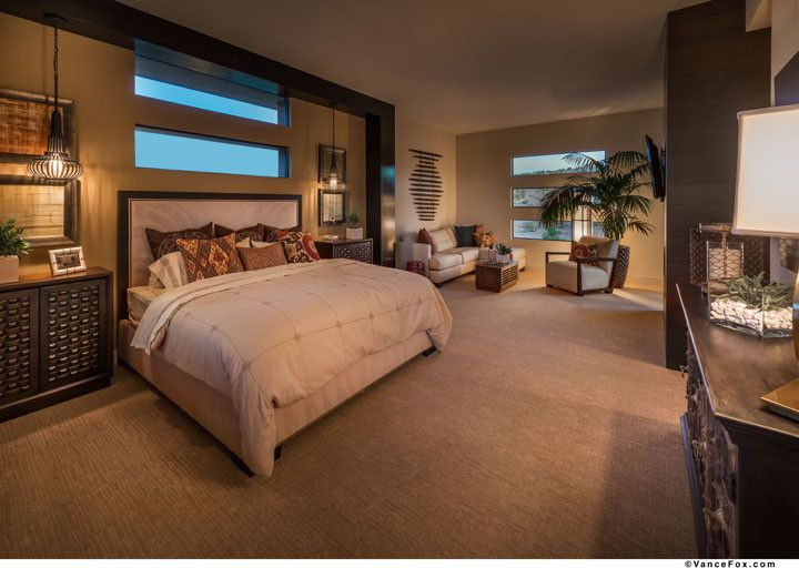 The Ridges Las Vegas for a  Bedroom with a  and the Grand Collection at Sterling Ridge in Las Vegas, Nevada by William Lyon Homes