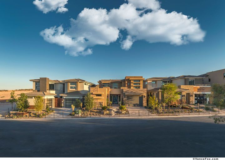 The Ridges Las Vegas for a  Exterior with a  and the Grand Collection at Sterling Ridge in Las Vegas, Nevada by William Lyon Homes