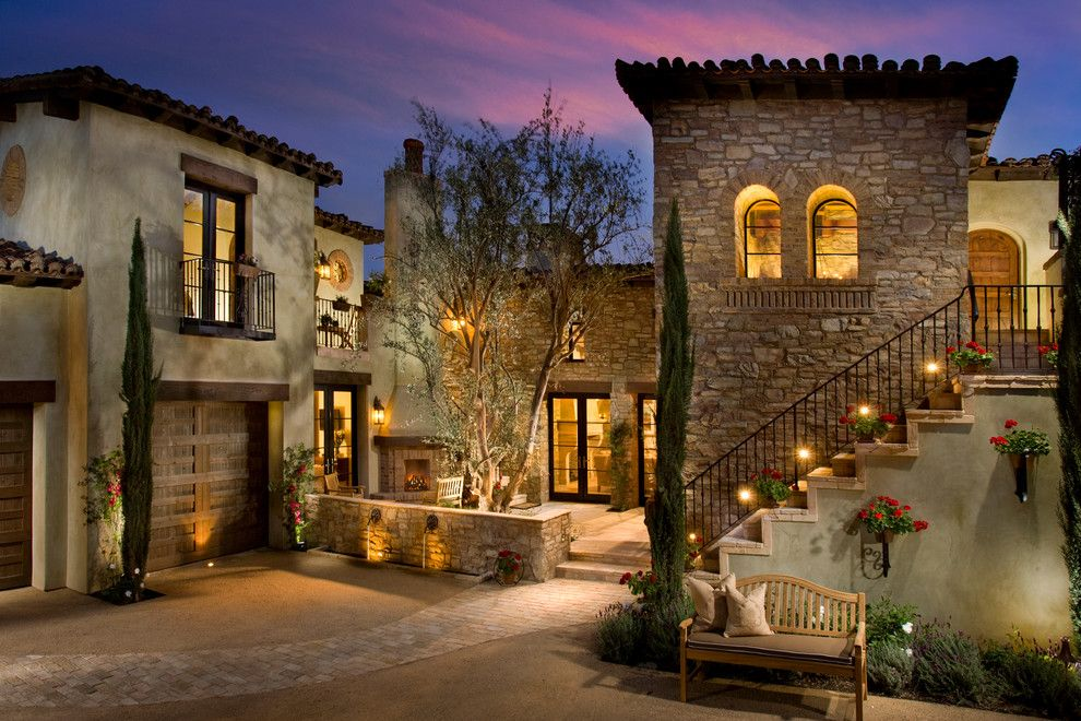 The Ridges Las Vegas for a Rustic Exterior with a Rustic and Eldorado Stone 2017 by Eldorado Stone