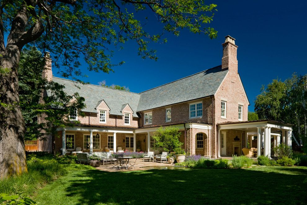 The Seasons of Cherry Creek for a Traditional Exterior with a Chimney and Cherry Creek by Neumann Lewis Buchanan Architects