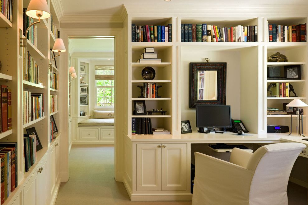 The Seasons of Cherry Creek for a Traditional Home Office with a Built Ins and Cherry Creek by Neumann Lewis Buchanan Architects