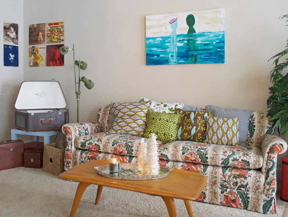 Thrift Stores Omaha for a Eclectic Living Room with a Coffee and Dallas, TX: Martha Harms by Sarah Greenman