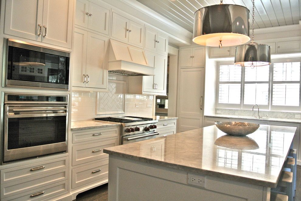 Tile Outlet Chicago for a Eclectic Kitchen with a Kitchen and Kitchen by Blue Pearl Stone