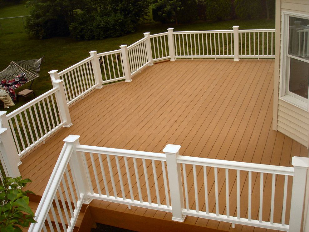 Timber Tech for a Traditional Deck with a Low Maintenance and Somerset, Nj Azek and Timbertech Deck by Deck Pros