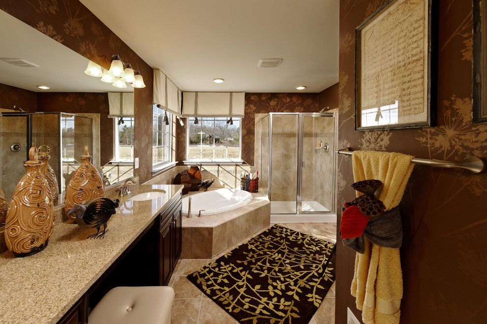 Timberlake Furniture for a Contemporary Bathroom with a Contemporary and Mason's Landing   Chelsea by Beazer Homes   Maryland/virginia