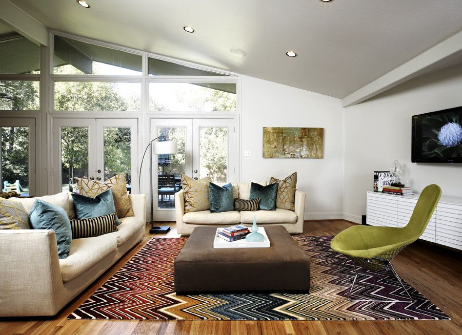Times Square at Craig Ranch for a Midcentury Living Room with a Kid Friendly and Mid Century Modern Family Room by Beth Dotolo, Asid, Rid, Ncidq