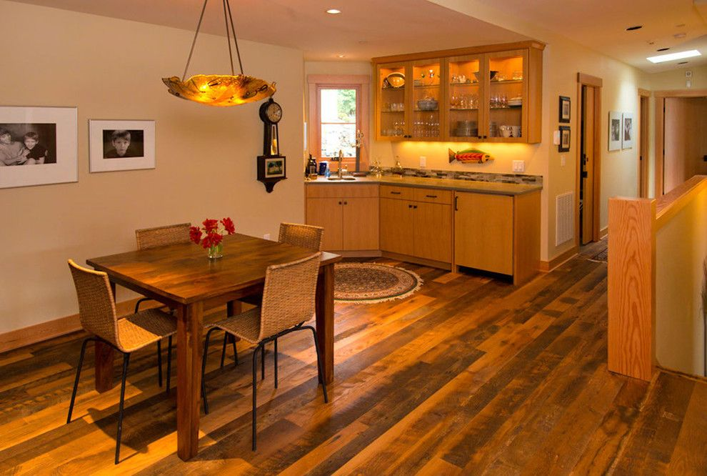 Tims Ford Lake for a Eclectic Dining Room with a Custom Home Builder and Lake Oswego Lake Remodel by Riverland Homes Inc