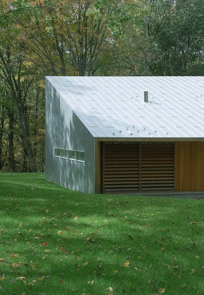 Tin Roof Rusted for a Modern Shed with a Turf and Texas Hill House by Incorporated