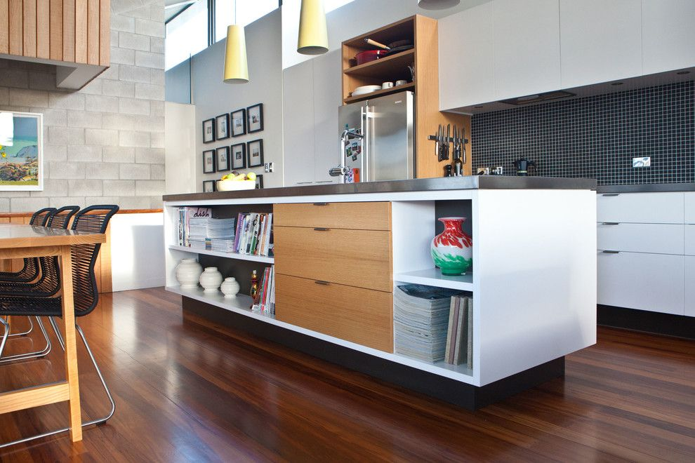 Tivoli Bowl for a Modern Kitchen with a Kitchen and Livingstone St House Refurbishment by Caaht Studio Architects