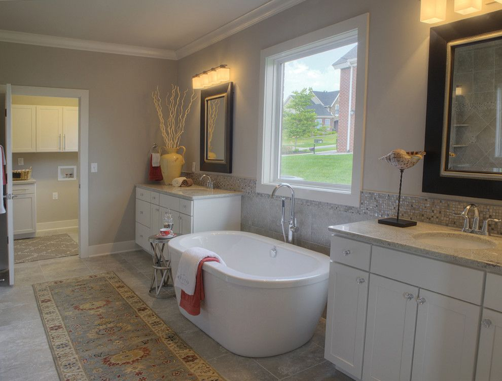 Tj Maxx Albuquerque for a Transitional Bathroom with a Uttermost and Luxury Baths by Jagoe Homes Inc