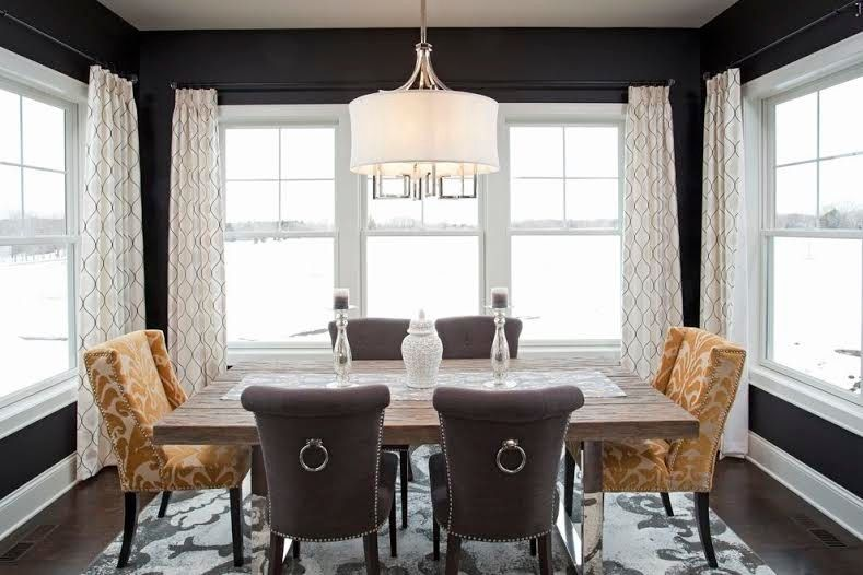 Tj Maxx Albuquerque for a Transitional Dining Room with a Nailhead Trim and Autumn Ridge Crestmoor Model Home by Interior Impressions