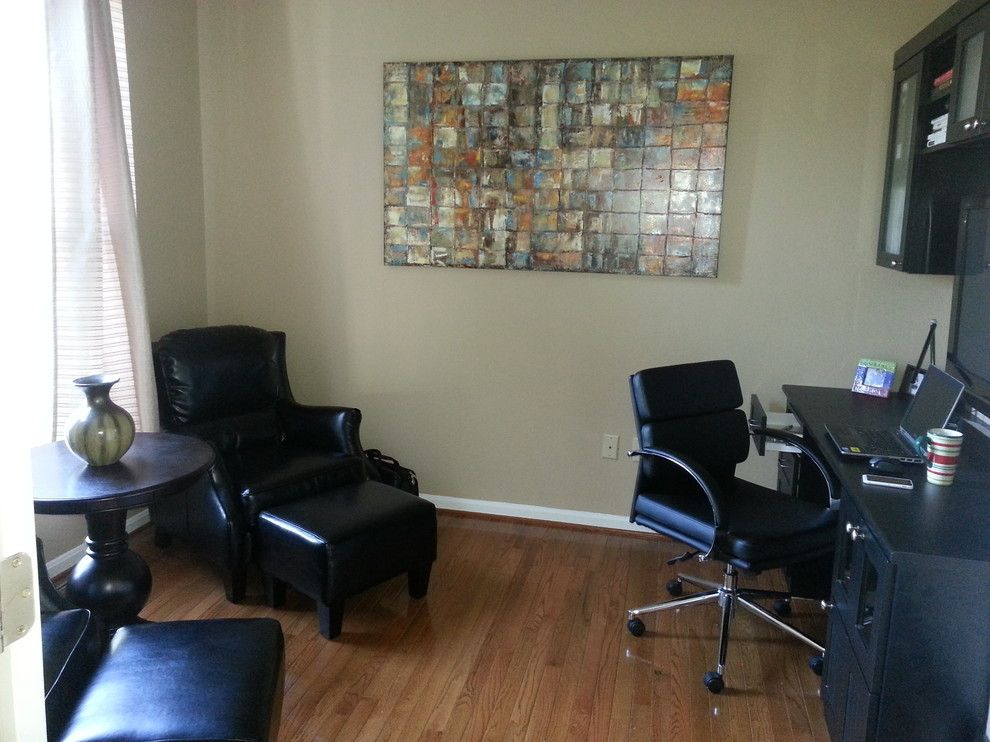 Tj Maxx Albuquerque for a Transitional Home Office with a Ottoman and New Home Office by Carlo Sangalang