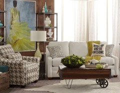 Tj Maxx Albuquerque for a Transitional Living Room with a Wall Art and La-Z-Boy by La-Z-Boy