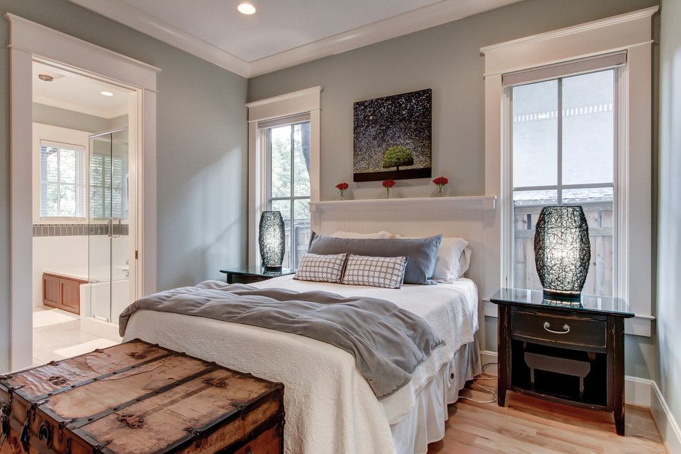 Tj Maxx Milwaukee for a Contemporary Bedroom with a Wood Floor and LEED Platinum Certified Residence by William Johnson Architect