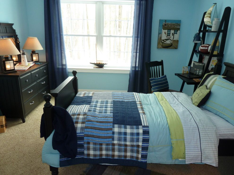 Tj Maxx Milwaukee for a Contemporary Kids with a Window Treatments and Longmeadow Boys Room by Creative Decor by Mandi