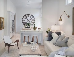 Tmart Furniture for a Transitional Living Room with a Interior Design Details and Naples Villa by Shelley Morris Interiors
