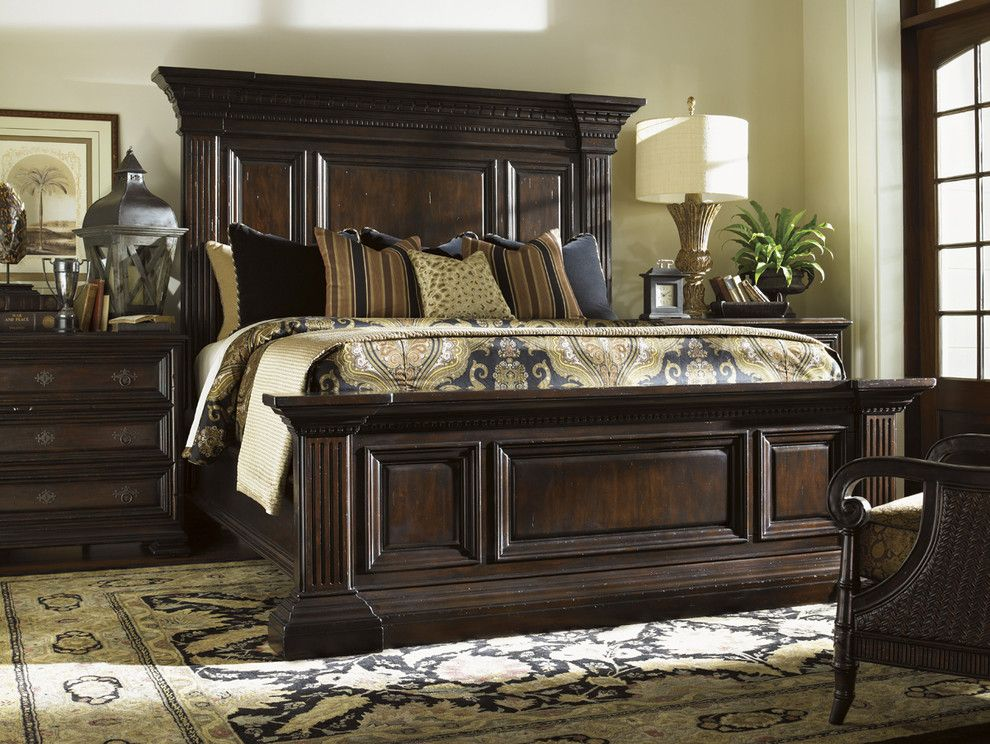 Tommy Bahama Nyc for a  Bedroom with a  and Tommy Bahama Island Traditions Bedroom Collection by Seldens Furniture
