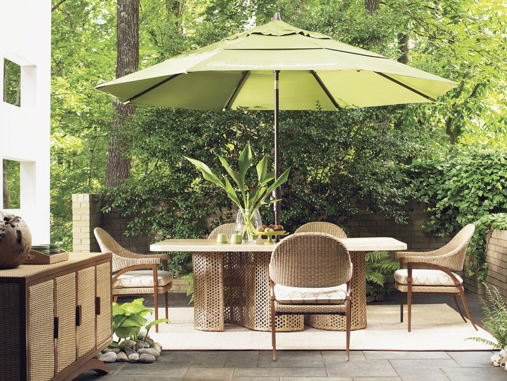 Tommy Bahama Nyc for a Contemporary Patio with a Outdoor Furniture and Tommy Bahama Outdoor Living by Creative Sources, Inc.