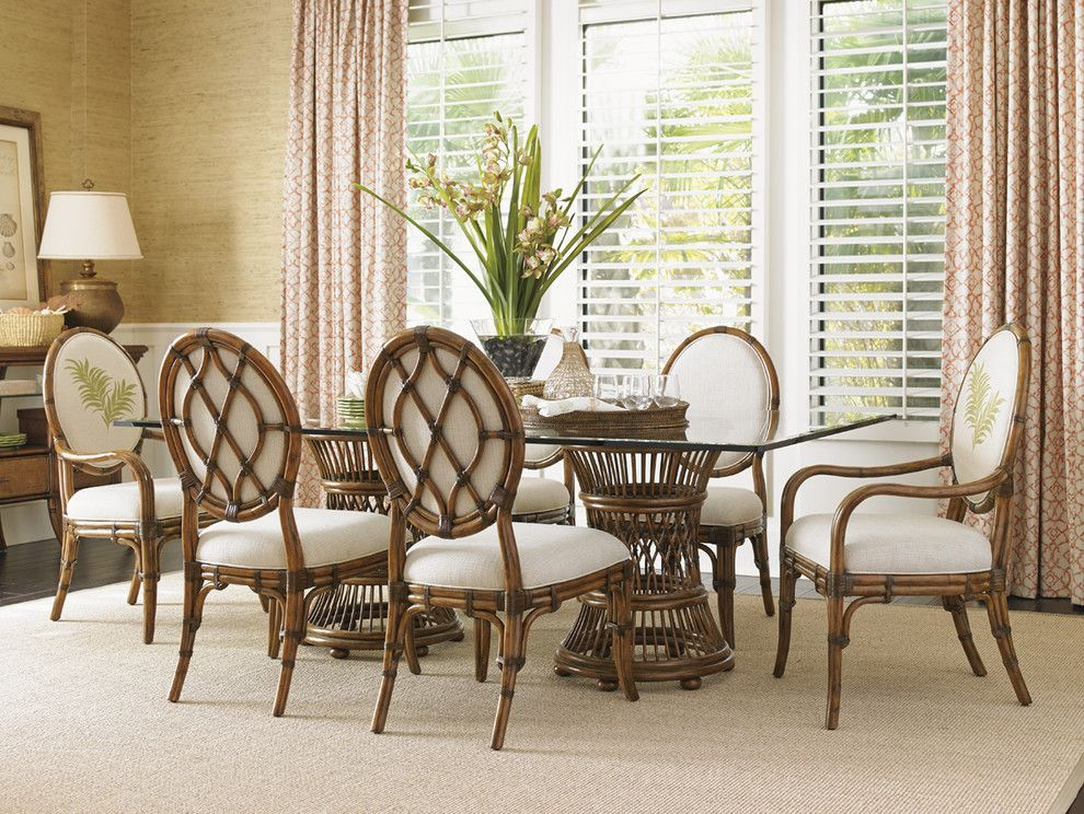 Tommy Bahama Nyc for a  Dining Room with a  and Tommy Bahama Bali Hai Dining Collection by Seldens Furniture