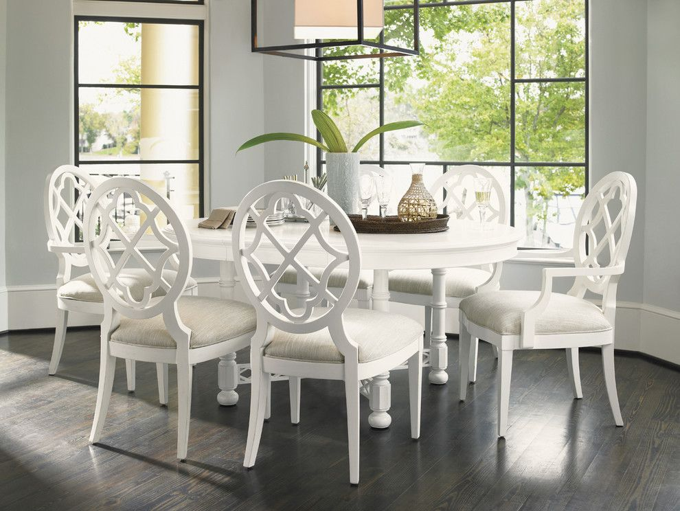 Tommy Bahama Nyc for a  Dining Room with a  and Tommy Bahama Ivory Key Dining Collection by Seldens Furniture
