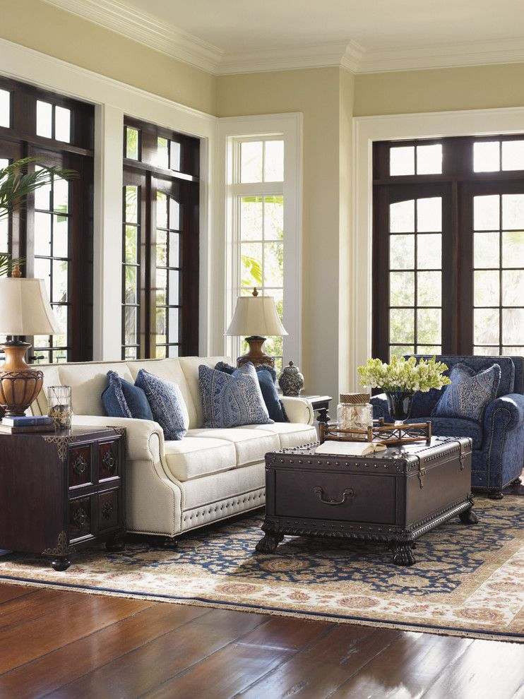 Tommy Bahama Nyc for a  Living Room with a  and Tommy Bahama Island Traditions Living Room Collection by Seldens Furniture