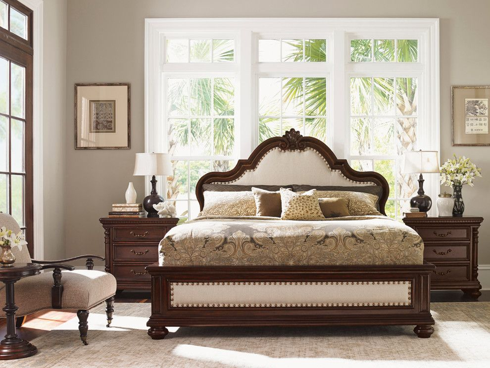 Tommy Bahama Orlando for a  Bedroom with a  and Tommy Bahama Kilimanjaro Bedroom Collection by Seldens Furniture