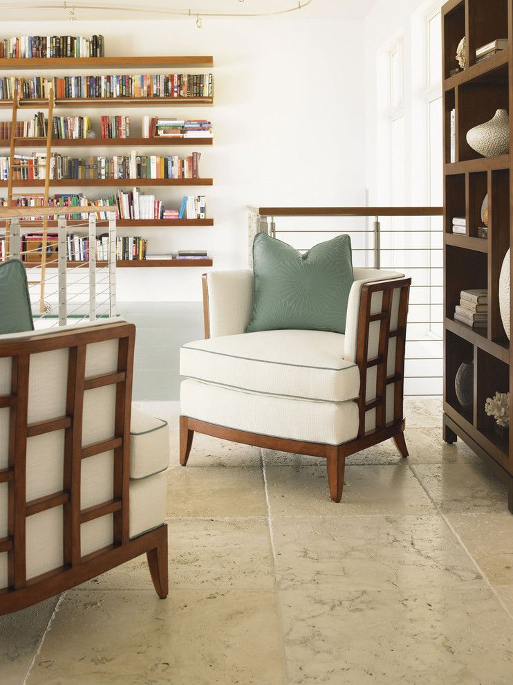 Tommy Bahama Orlando for a Contemporary Family Room with a Contemporary Design and Ocean Club Reading Nook by Tommy Bahama Home Store   Fashion Island