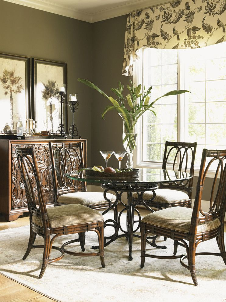 Tommy Bahama Orlando for a  Dining Room with a  and Tommy Bahama Landara Dining Collection by Seldens Furniture