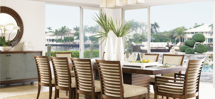 Tommy Bahama Orlando for a  Dining Room with a  and Tommy Bahama Ocean Club Dining Collection by Seldens Furniture