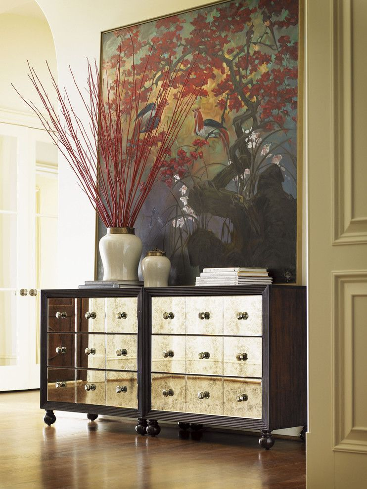 Tommy Bahama Orlando for a Eclectic Spaces with a Hall Chest and Royal Kahala - Hallway Display by Tommy Bahama Home Store - Fashion Island