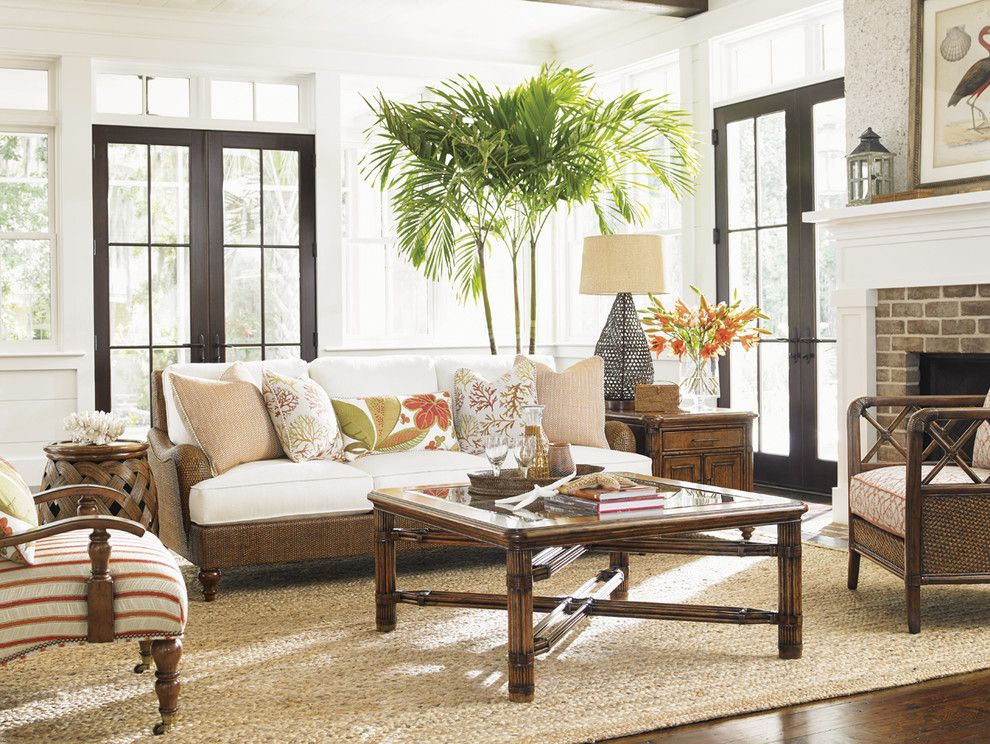Tommy Bahama Orlando for a  Living Room with a  and Tommy Bahama Bali Hai Living Room Collection by Seldens Furniture