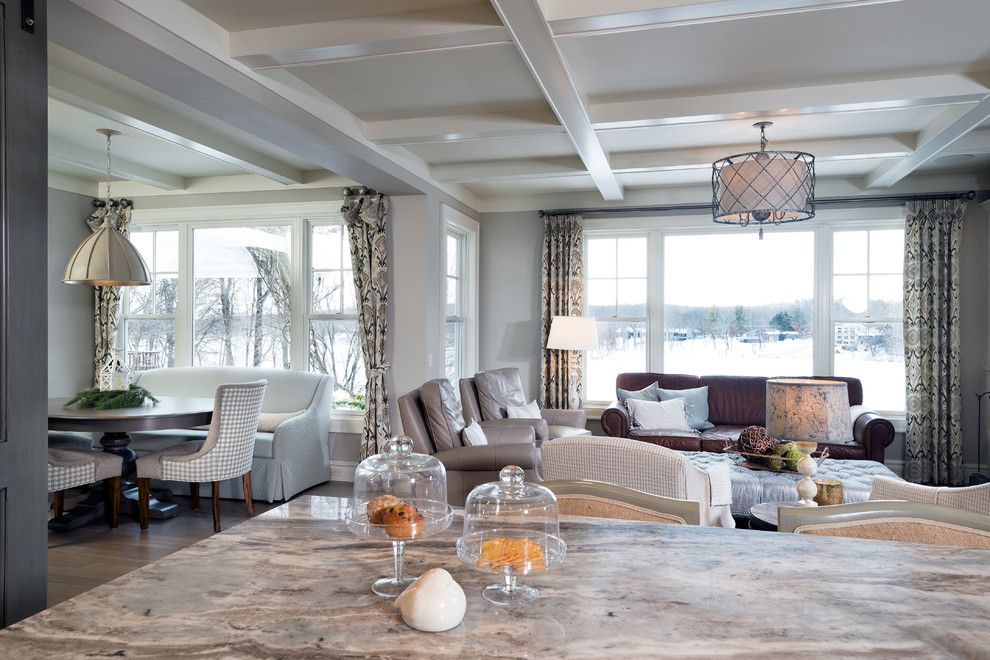 Tony Brown Chevrolet for a Transitional Living Room with a Transitional and Authentic Charm by Mike Schaap Builders