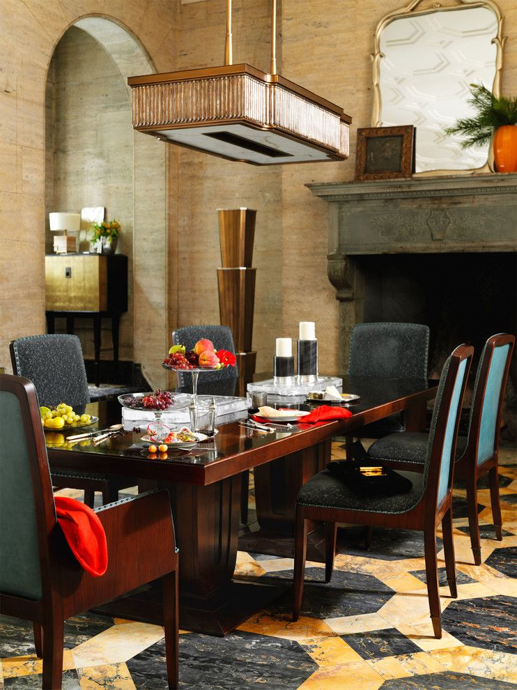 Torchere for a Modern Spaces with a Chair and the Bill Sofield Collection by Baker Furniture