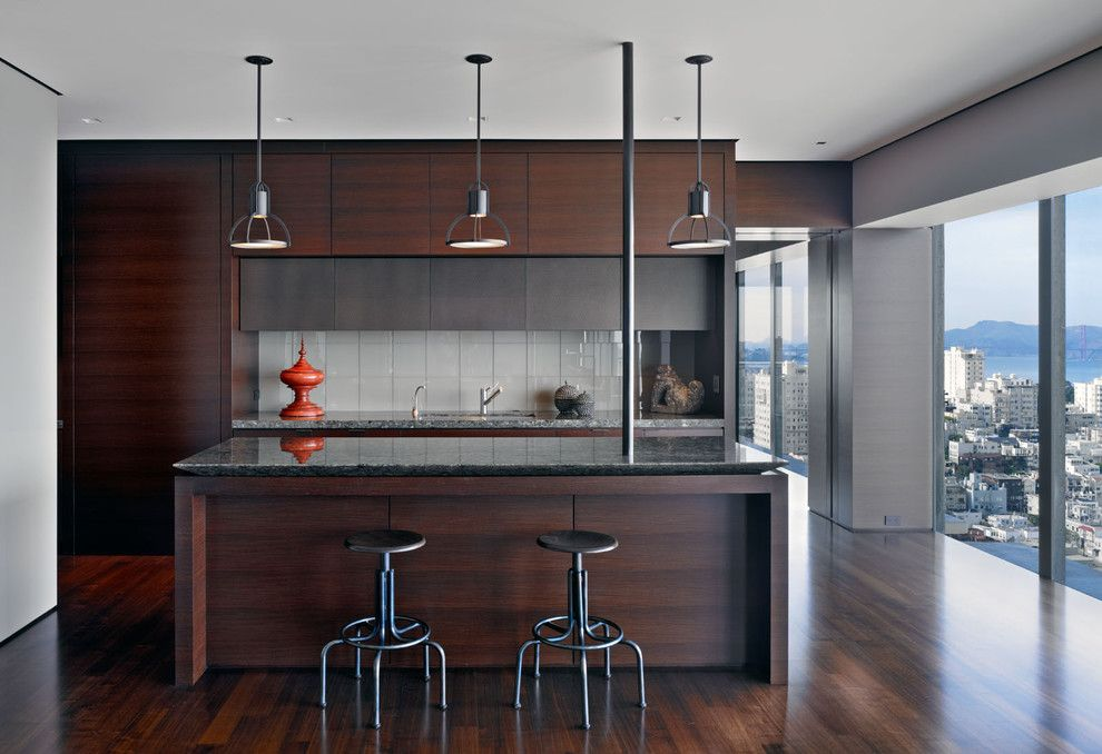 Torrey Hills Apartments for a Modern Kitchen with a Wood Cabinets and Russian Hill by Zack|De Vito Architecture + Construction